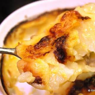 Old Fashion Scalloped Potatoes.