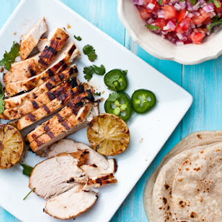 Tequila-Lime Chicken Fajitas