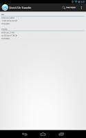 Screenshot of WiFi Direct File Transfer