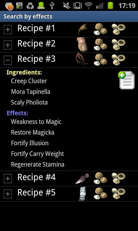 Skyrim Alchemist - screenshot