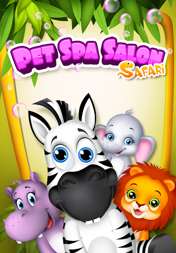 Pet Spa Salon: Safari