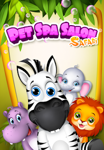 Pet Spa Salon: Safari- screenshot thumbnail