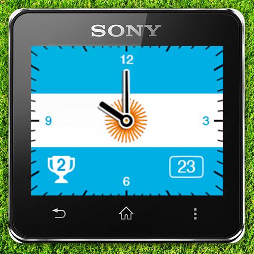 Watchface Argentina (Sony SW2) LOGO-APP點子