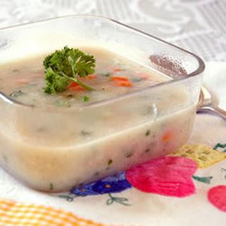 Smooth Cauliflower Soup