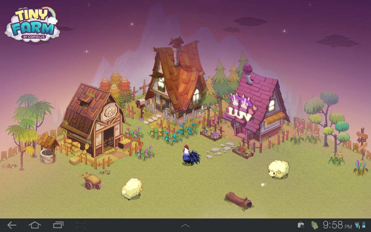 Tiny Farm Live Wallpaper - screenshot
