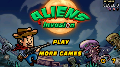 Aliens Invasion - screenshot