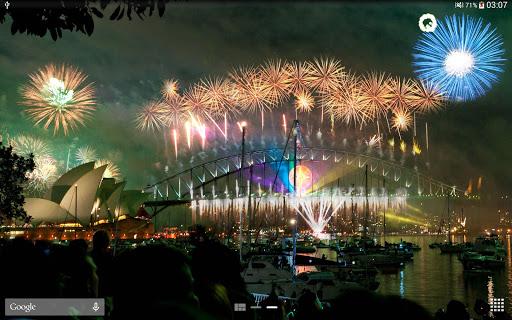 New Year Fireworks LWP (PRO) 1.3.1 screenshots 15