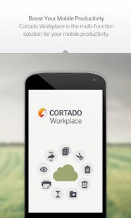 Cortado Workplace - screenshot thumbnail