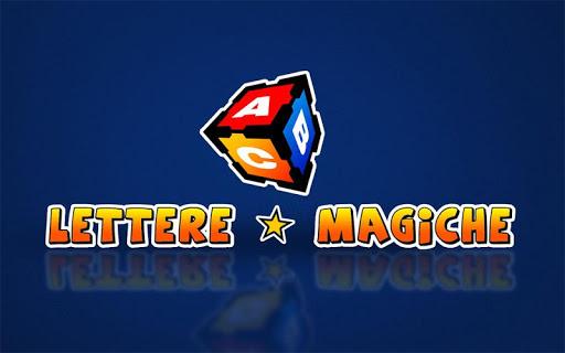 Lettere Magiche Italiano
