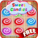 Sweet Candies Free Match 3 icon