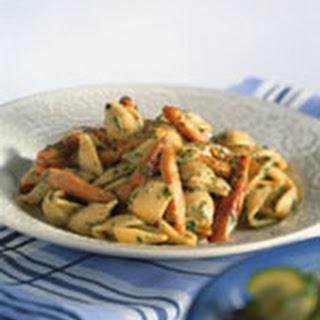 Pesto-kipreepjes Met Schelpmacaroni