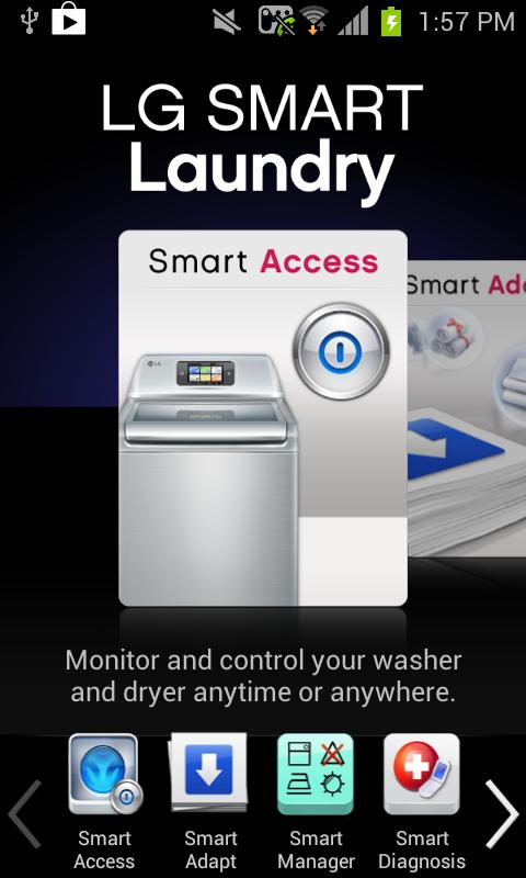 LG Smart Laundry&DW - screenshot