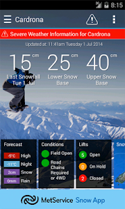 MetService Snow Weather screenshot 0