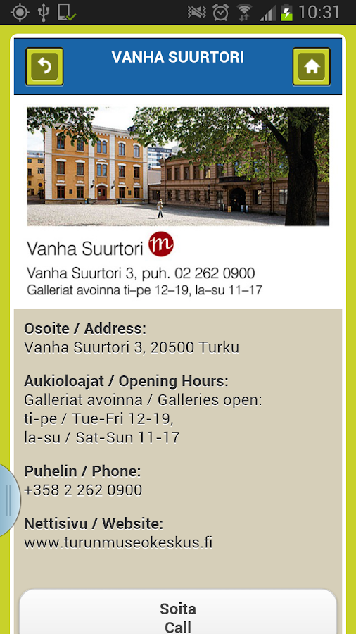 CITY-OPAS Turku - screenshot