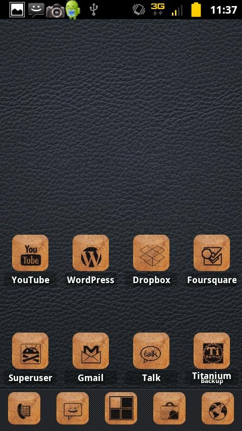 Free Burnt Leather Preview- screenshot