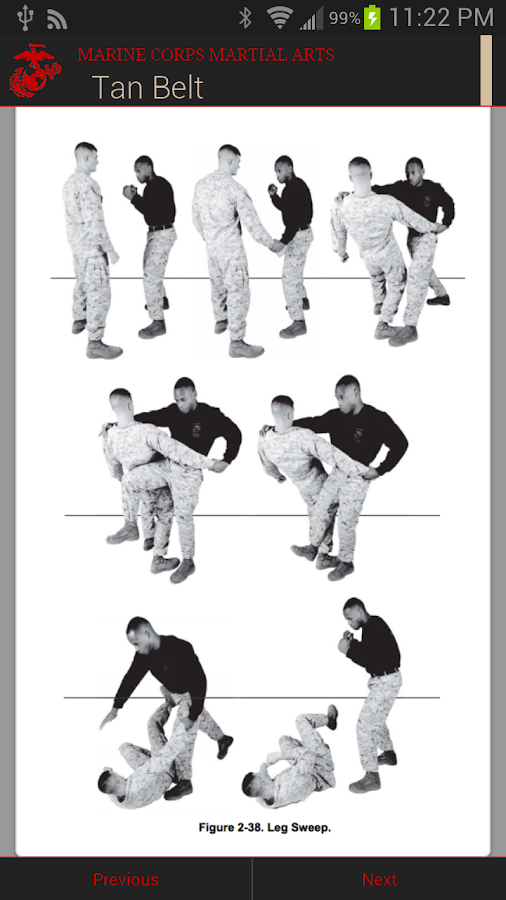 Marine Corps Martial Arts I - screenshot