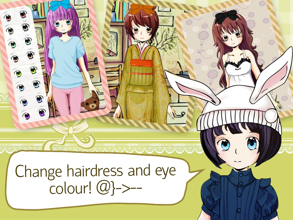 Yumi chan anime dress up game android apps on google play