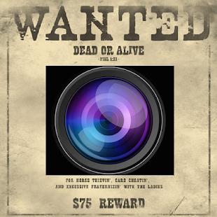 玩免費休閒APP|下載Wanted Poster app不用錢|硬是要APP