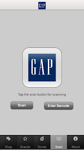 Gap - screenshot thumbnail