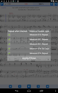 Practice Player Live Midi Demo - náhled