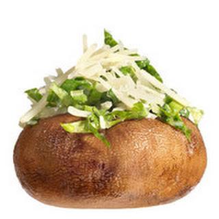 Caesar Salad Mushrooms