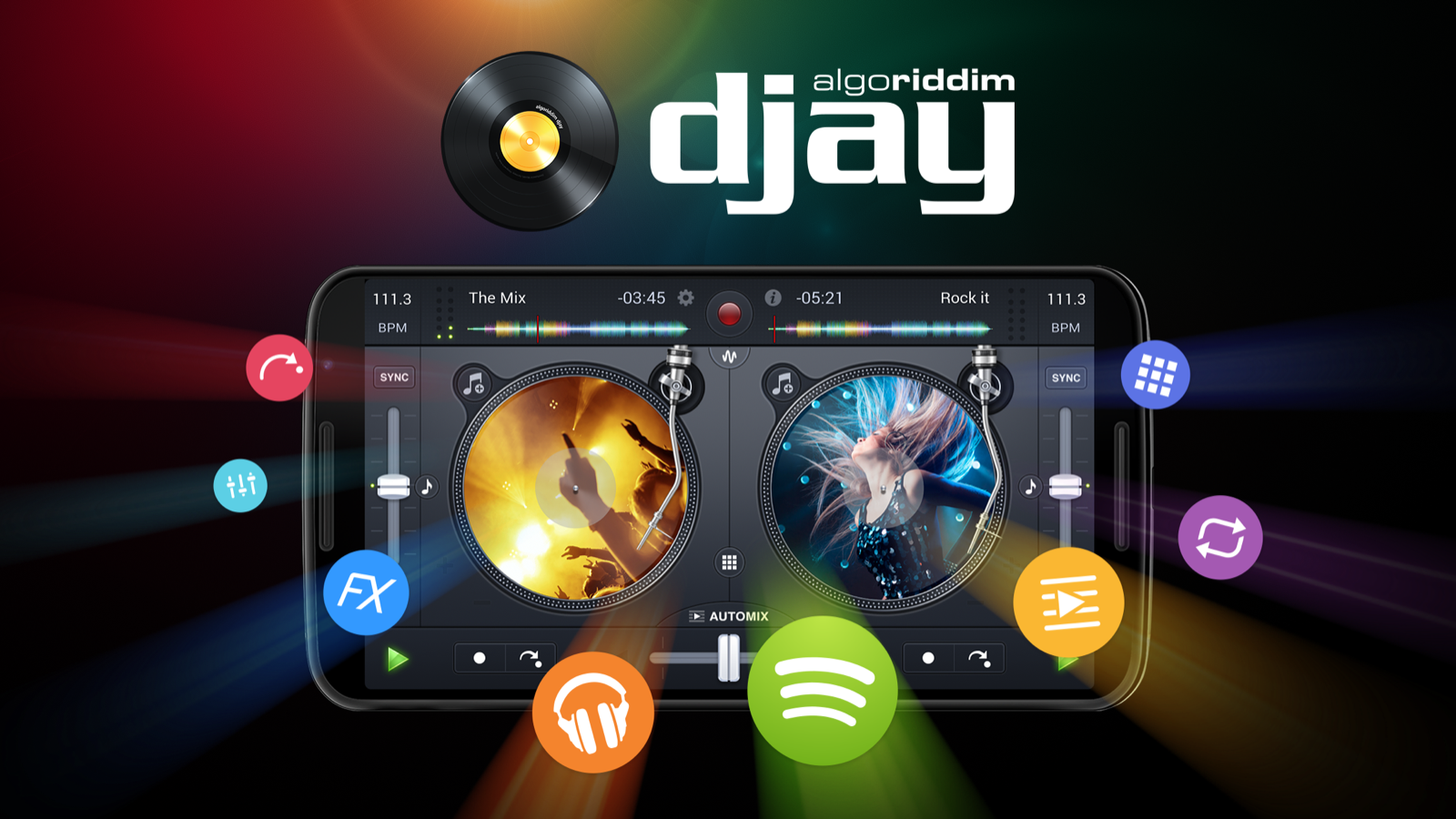 djay FREE - DJ Mix Remix Music- screenshot