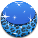 THEME - Blue Leopard icon