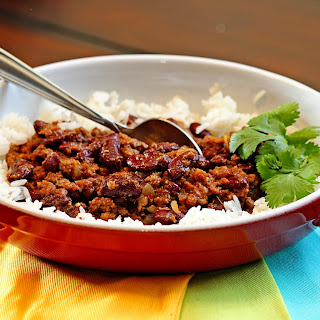 Red Kidney Bean Curry with Lamb (Rajmah Chawal)