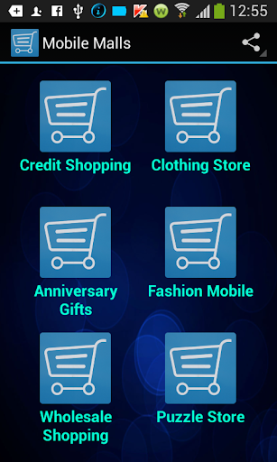 Mobile Shopping Malls