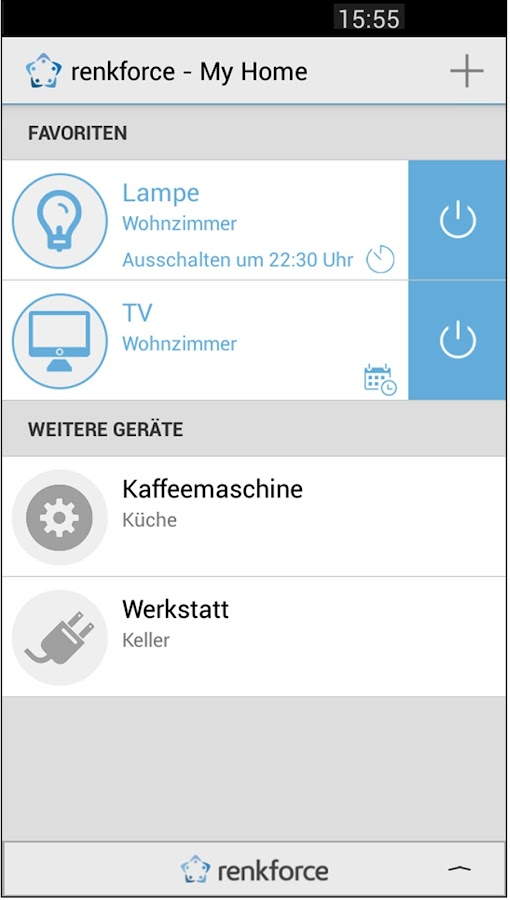 Renkforce My Home Android Apps Auf Google Play