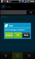 Screenshot of Kvib