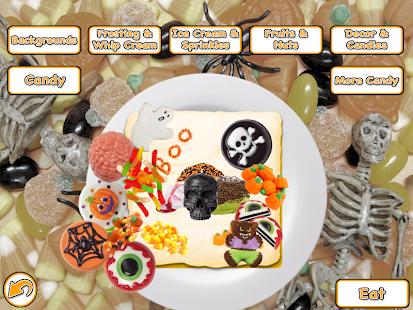 halloween cake maker bake cook candy food game screenshot thumbnail - Halloween Cake Games