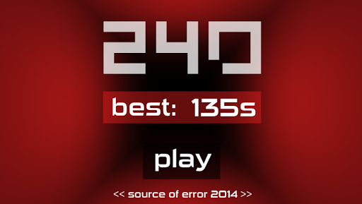 240 Seconds