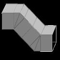 ダクト 分割Sカーブ icon
