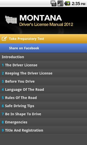 Montana Driver Manual Free