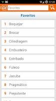 Screenshot of Dicionário inFormal