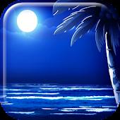 Moonlight Beach Live Wallpaper