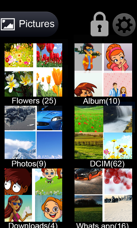 Photo locker - screenshot