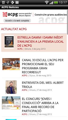 ACPG Notícies