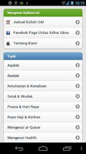 Soal Jawab Ustaz Azhar Idrus - screenshot thumbnail