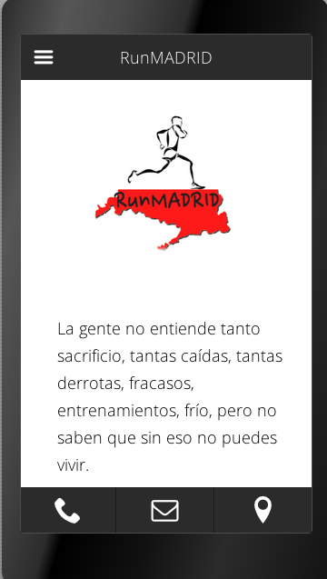 RunMadrid - screenshot