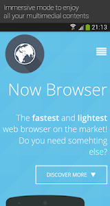 Now Browser Pro (Material) v2.3