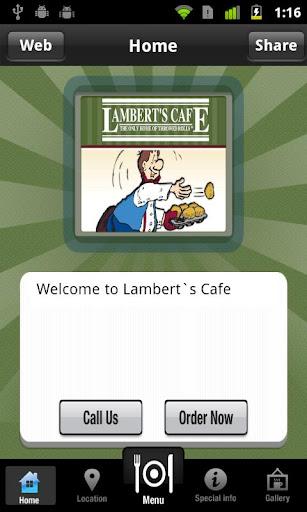 Lambert's Café III