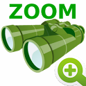 Binocular zooming icon