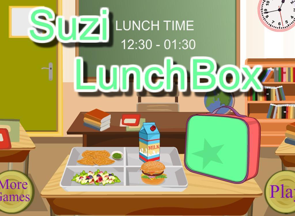 School Lunch - Food Maker- screenshot