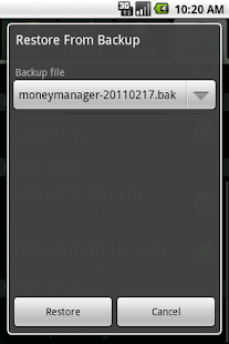 Money Manager- screenshot thumbnail