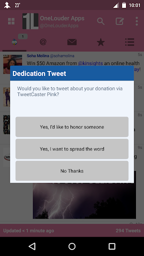 【免費社交App】TweetCaster Pink for Twitter-APP點子