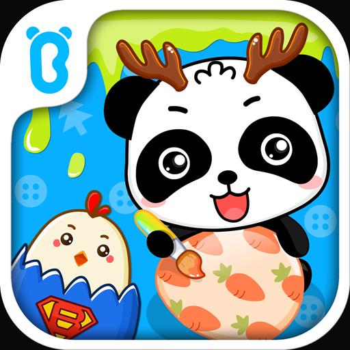 カラフルたまごーBabyBus 子ども・幼児向け知育アプリ 教育 App LOGO-硬是要APP