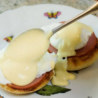 Blender Hollandaise Sauce.