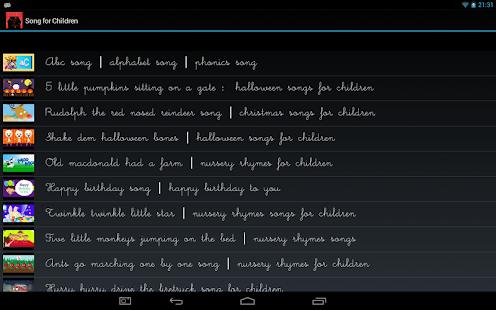 Songs-for-Children 2